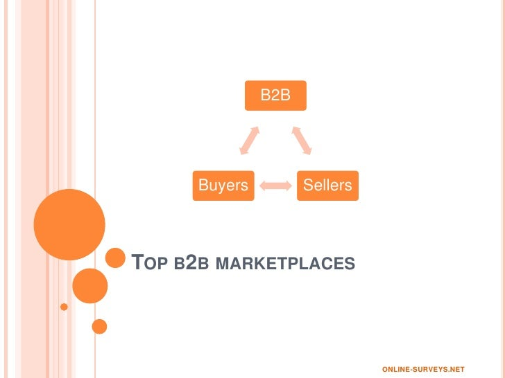 Top 5 Fastest Growing B2B MarketPlaces