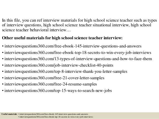 Random High School questions?