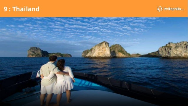 Top 10 honeymoon destinations for Top 20 honeymoon destinations