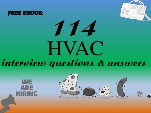 hvac engineer interview questions and answers pdf