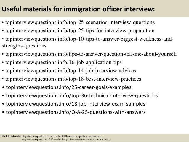 How do I write a good immigration interview essay?