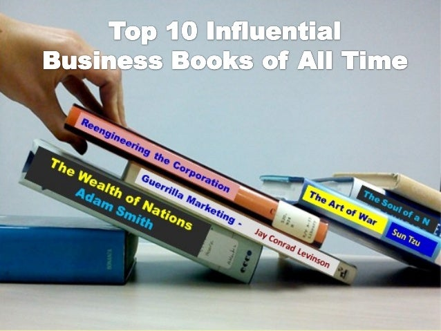 Top 10 influential business books of all time