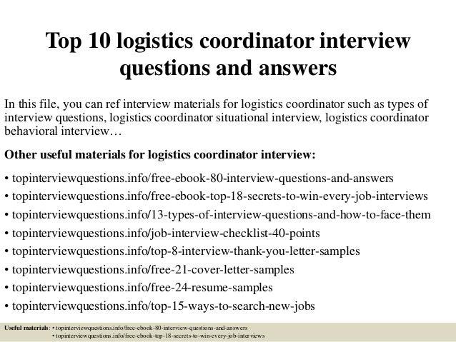 Logistics Administrator Job Description Gallery