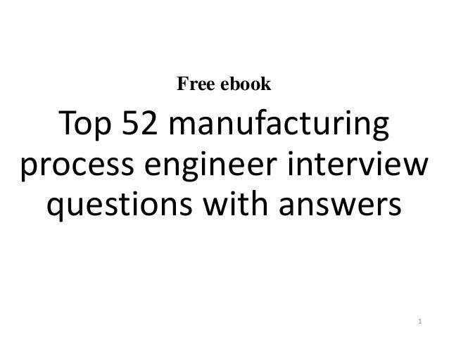 Manufacturing Interview Questions | Glassdoor