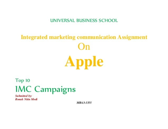 marketing assignment on apple This research is being carried out to evaluate and present marketing and brand  innovation using apple inc as an example in the present business environment.