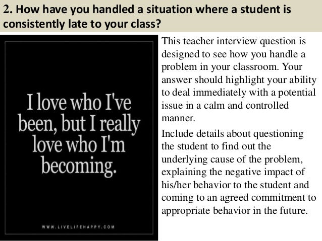 What do you ask your math teacher in an interview?