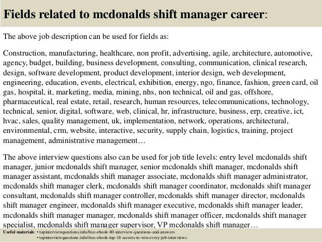 shift lead job description | Template