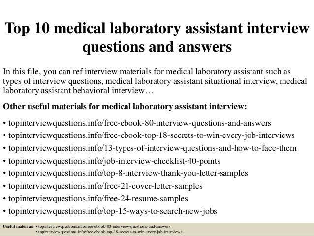 top 21 clinical lab technician interview questions health unify