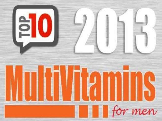 Top 10 men's multivitamine for healthy body
