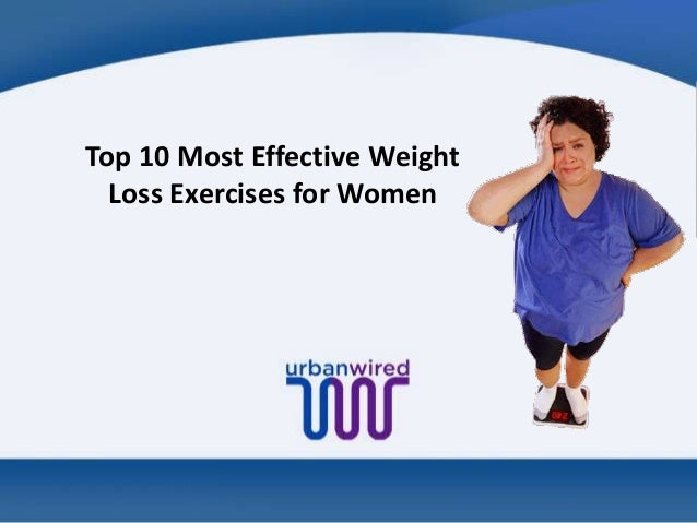 Top 10 Most Effective Weight Loss Exercises for Women