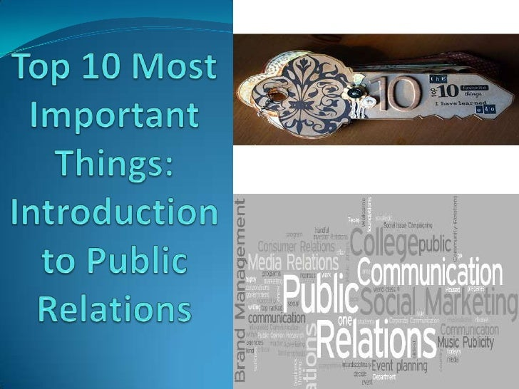 My Top 10 from PR Publications