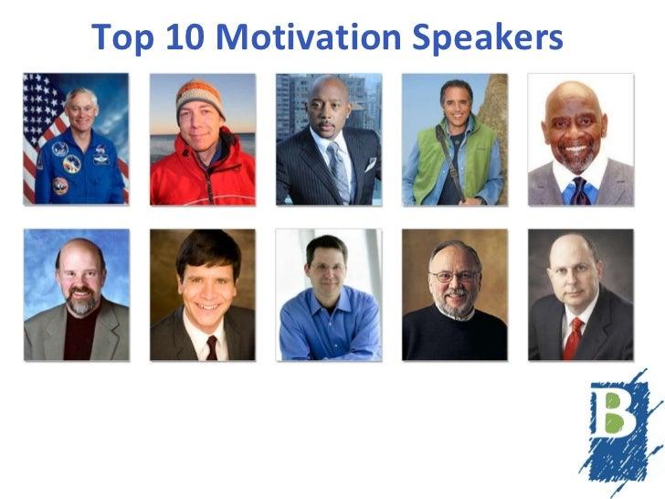 Top 10 Motivation Speakers