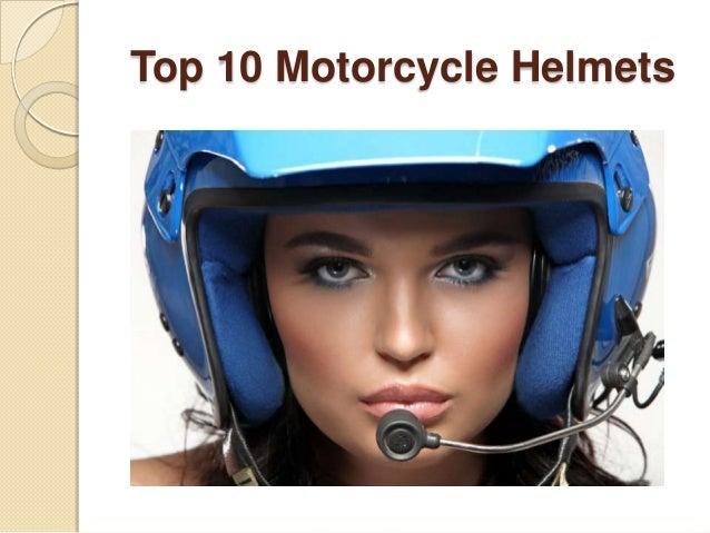 Top 10 Motorcycle Helmets