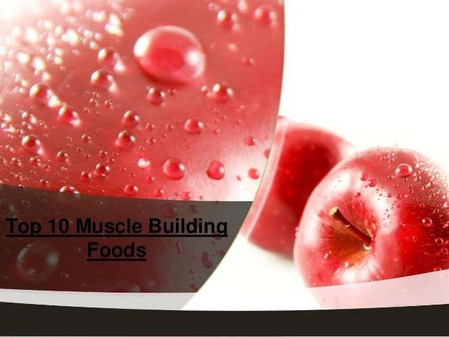 Top Ten Foods for Building Muscle
