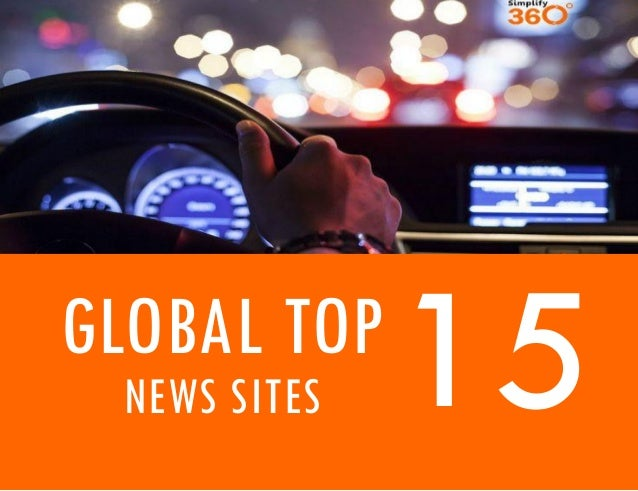 Global Top 15 News Sites
