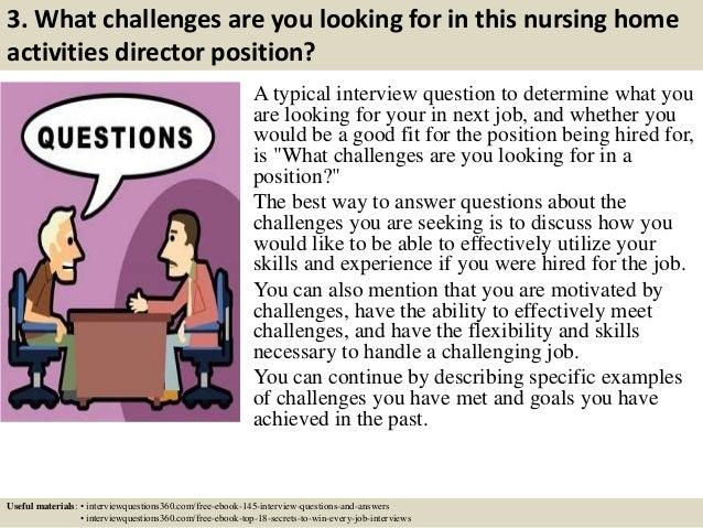 Nursing Home Activities Director Nursing Home Activities