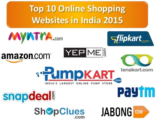 Top 10 online shopping websites in india 2015 for Online shopping websites list