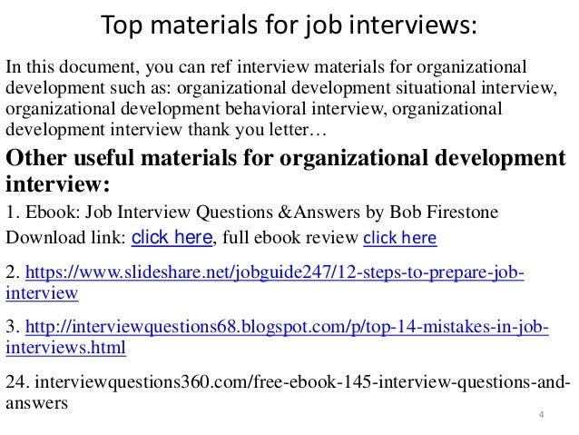 organizational development discussion questions Test and improve your knowledge of organizational change with fun multiple choice exams you can take online with studycom for choose your answers to the questions and click rick told janice that for the next month she should develop some personal professional development goals and.