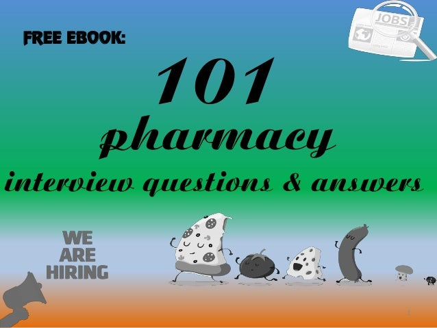 top 10 pharmacy interview questions with answers