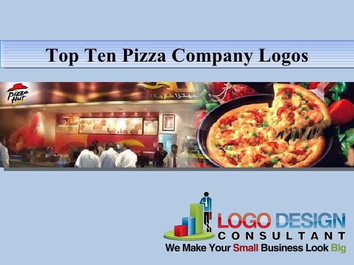 Top Ten Pizza Company Logos