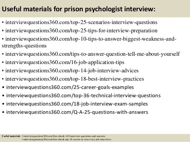 Psychologist questions?