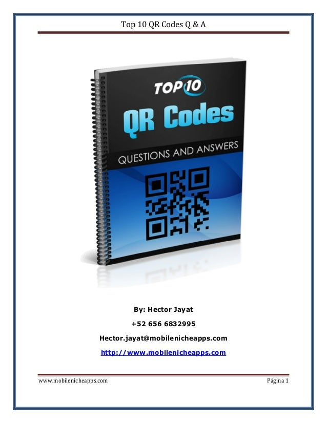 Top 10 QR Code Questions & Answers