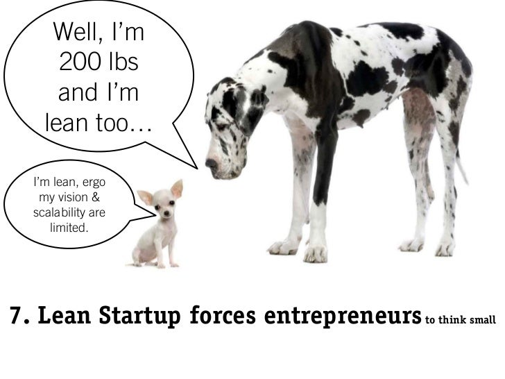 Top 10 Reasons to Not be a Lean Startup for Momentum Michigan