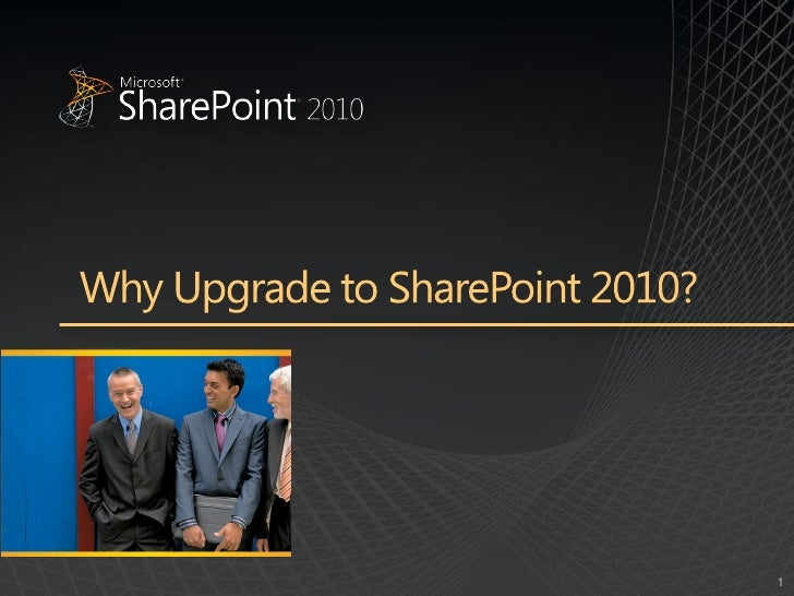 Top 10 reasont_to_upgrade_to_share_point_2010_presentation