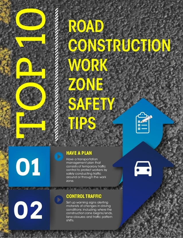 Construction safety road construction safety tips for Construction tips