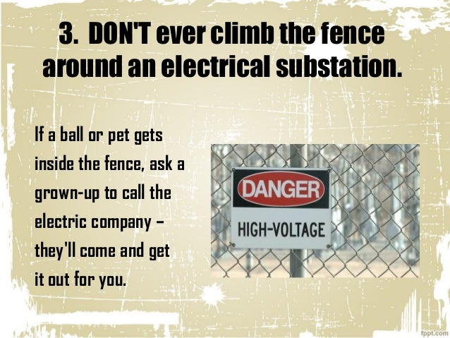 Top 10 Rules For Electric Safety