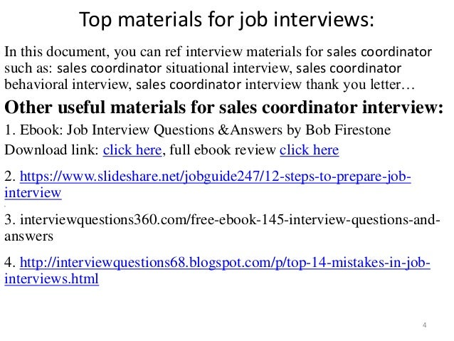 top   s coordinator interview questions and answers