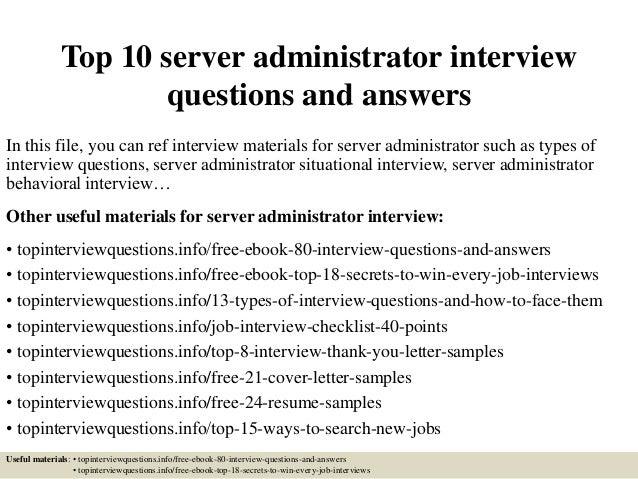 how to become a server administrator