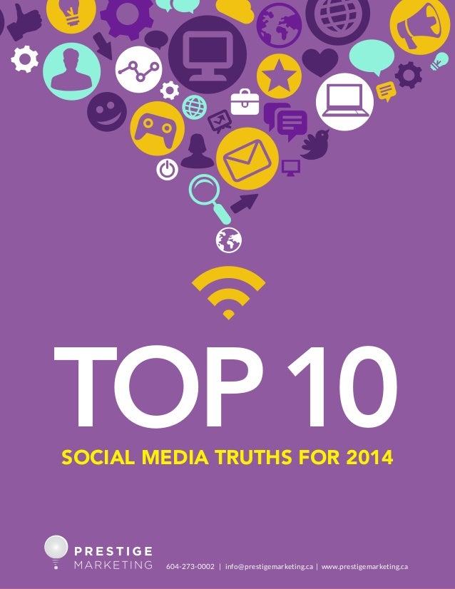 Top 10 social media truths for 2014