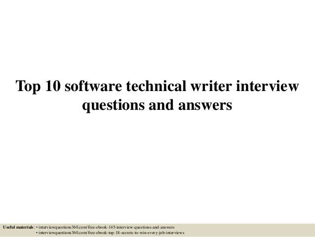 Jr technical writer