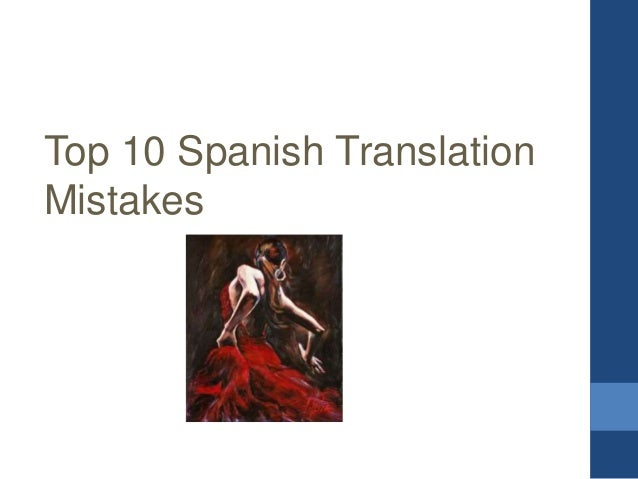an introduction to the translation into spanish Ba hons modern languages with translation  also provide an insight into key issues in translation studies by  introduction to literature in spanish.
