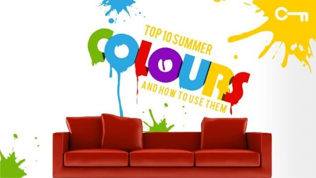 Top 10 Summer Colours To Add Zing To Your Home