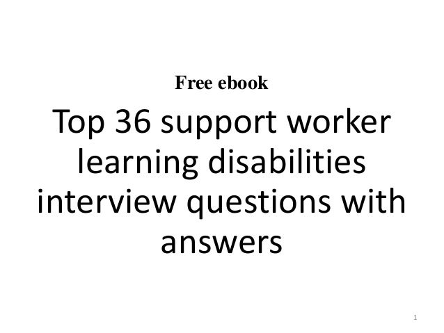 Sample resume for disability support worker