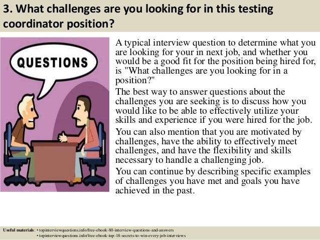 District assessment coordinator resume