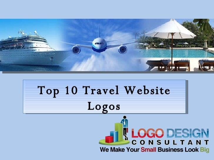 Top 10 Travel Website Logos