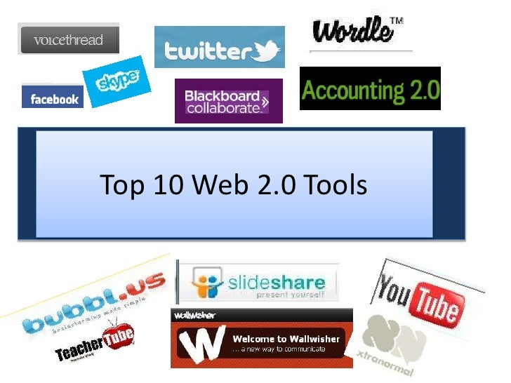Top 10 web2.0 tools