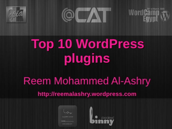 Top10 Word Press Plugins