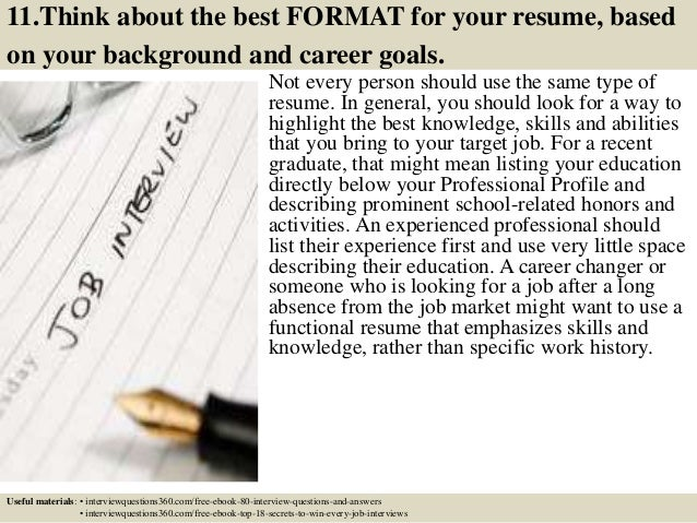 Top 12 business resume tips