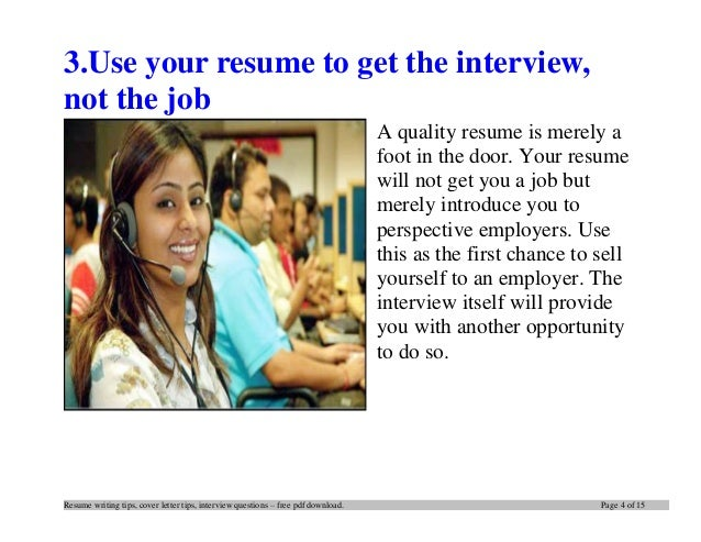 How to write an impressive cv and cover letter pdf