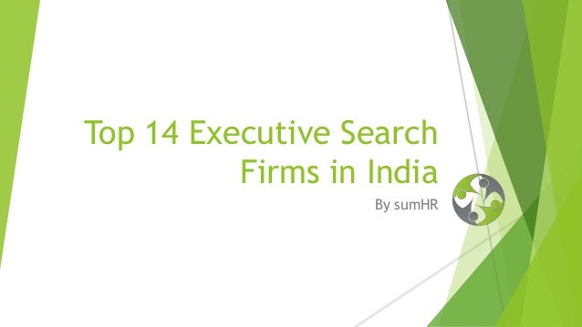 Business plan executive search firm