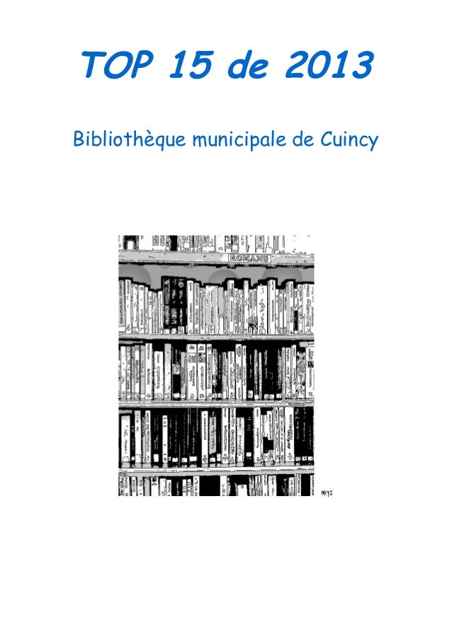 TOP 15 de 2013 Bibliothèque municipale de Cuincy  krys