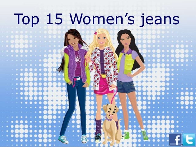 Top 15 Women's jeans