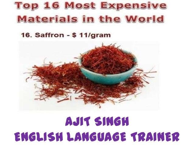 AJIT SINGHENGLISH LANGUAGE TRAINER