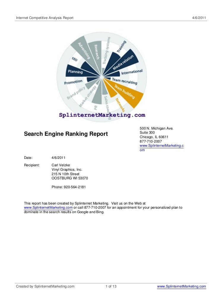 Internet Competitive Analysis Report                                                                      4/6/2011        ...