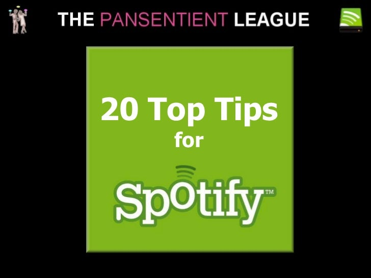 20 Top Tips<br />for<br />