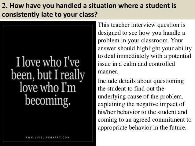 preschool teacher interview questions and answers